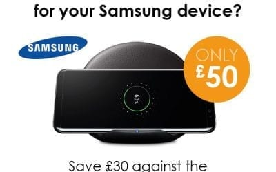 Want a wireless charger for your Samsung device?