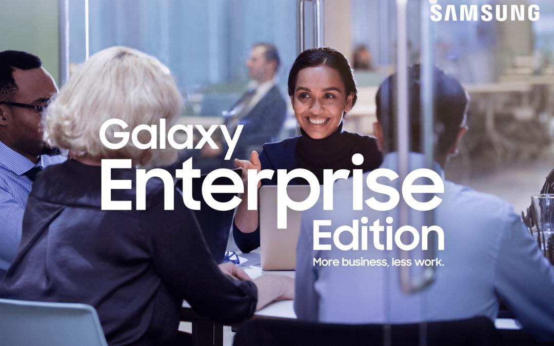 Samsung Galaxy Enterprise Edition