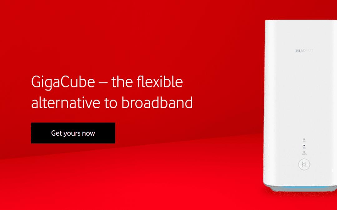 Vodafone GigaCube – the Flexible Alternative to Broadband