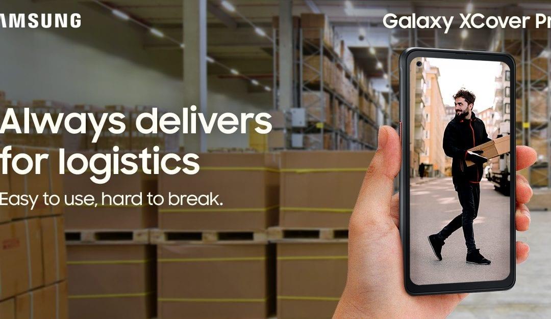 Nothing Delivers Like the Samsung Rugged Range for Transport & Logistics